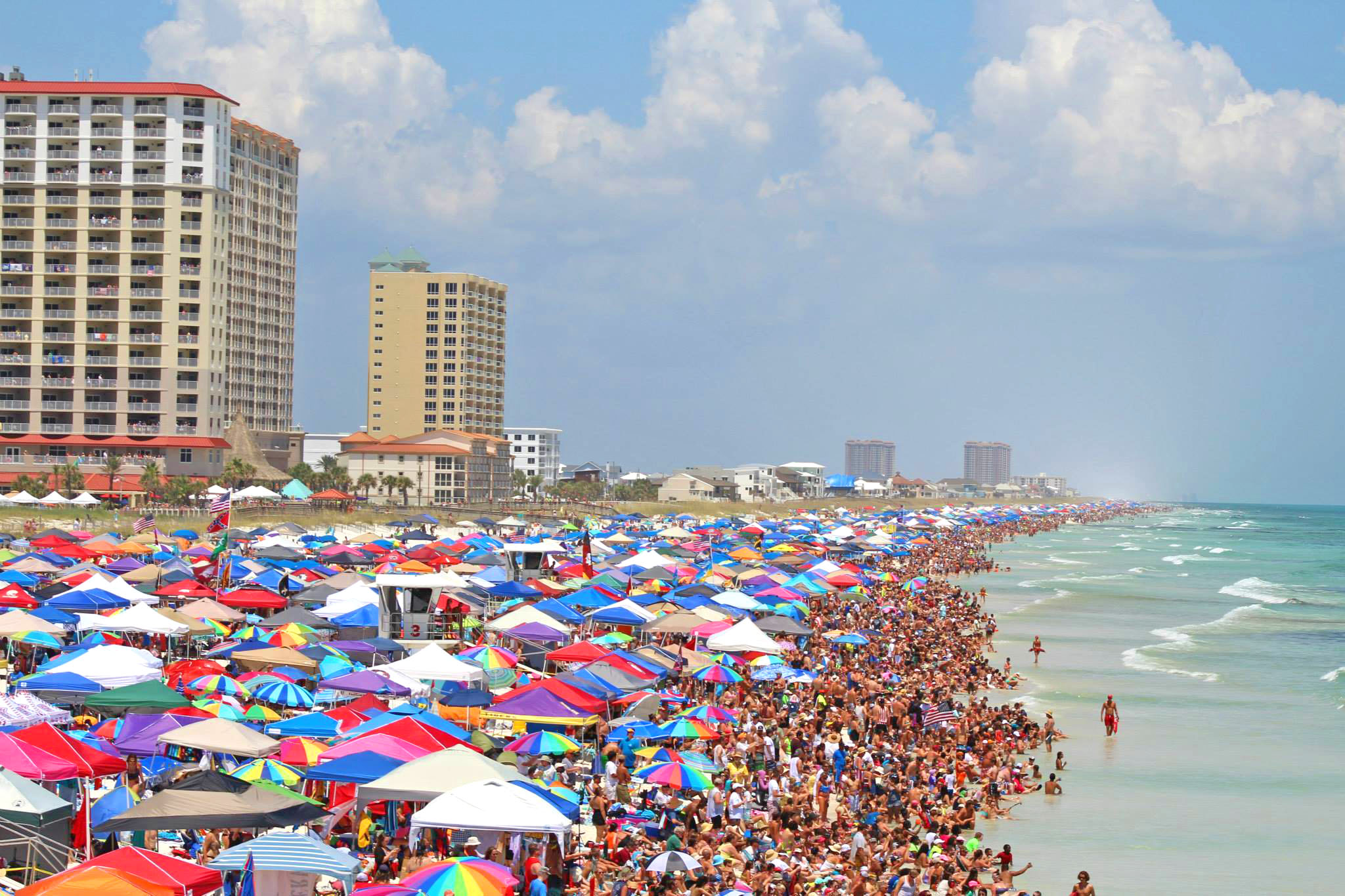 Pensacola Beach Liuards Return To