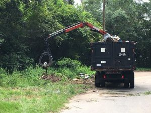 Escambia County Cleanup Truck