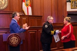 Florida's Chief Financial Officer and State Fire Marshal Jimmy Patronis