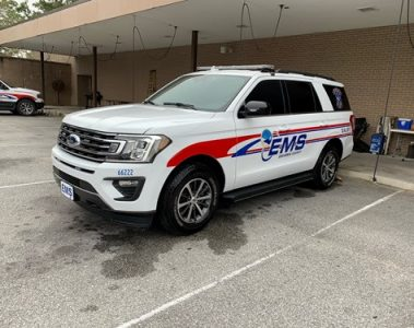 The new Ford Expedition EMS vehicle