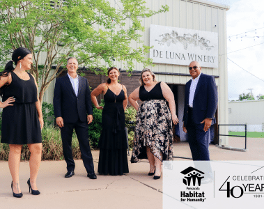 habitat for humanity gala group with logo